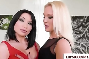 Euro XXX Sex Party -One Hot Foursome with Rina Ellis and Cecilia Scott porn vid-01