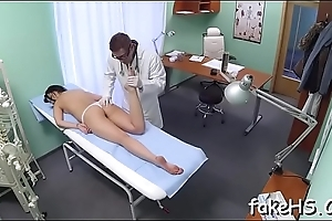 Excellent orgasms be proper of a hot doctor