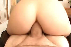 Stunner Assfucked and Swallows