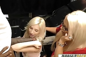 Gorgeous Alura Jenson &amp_ Stepdaughter Piper Perri Share BBC