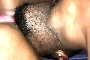 Ebony BBW roughly fisted ingratiate oneself with she squirts everywhere (Hitachi Squirtz)