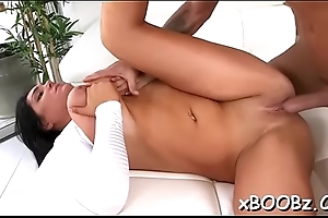 Non-stop enjoyment for playgirl with jugs