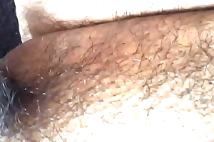 Asian bitchboy'_s little penis squirting by riding black dildo