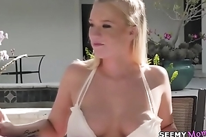Neighbour spying on my family picnic! - Bailey Brooke and Reagan Foxx
