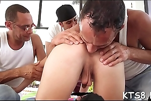 Tranny cowgirl can'_t live impecunious wazoo fucking