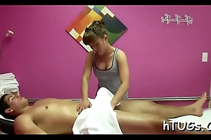 Hung guy fucks a masseuse