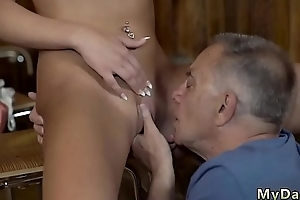 Big cock daddy Can you trust your gf leaving her alone with your