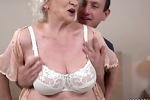 Composure hot and aberrant Norma wants a young dick