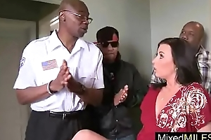(honey white) Hot Mature Lady Ride Hard Big Black Cock clip-13
