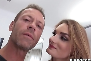 Curvy french babe got assfucked at Rocco'_s apartment - Marie Clarence