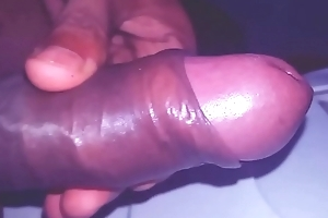 Indian Twink Play With His Lund