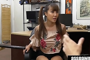 Asian Chick Tiffany Rain Exchanges Family Sword For White Man&rsquo_s Flesh Sword