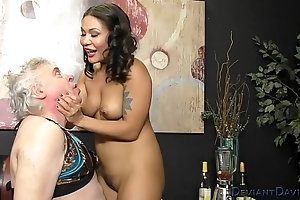 Mena Mason and Her Sissy Asslicker Slave