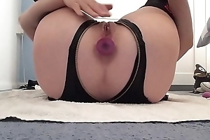 playing with my wet shaved squirting pussy.... again