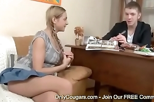 Sexy Young Teen Tries Anal Sex