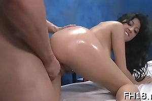 Sexy sexual connection massage