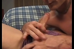 Two gay muscle men give each other head then one gets his ass drilled